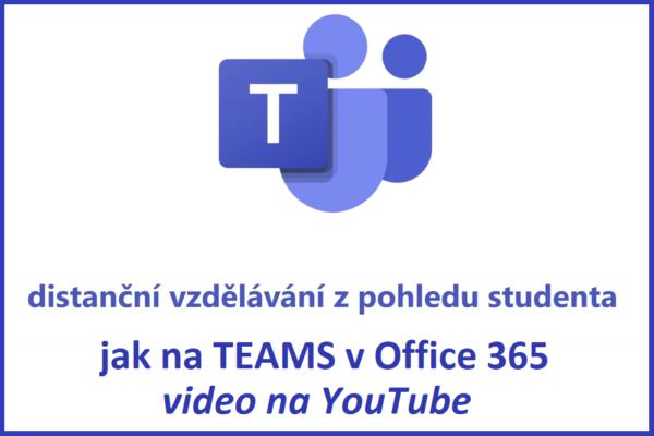 Instruktážní video: jak na MS Teams